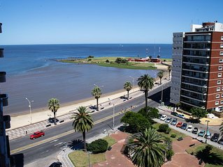 Cómodo Apartamento ☼ Plaza Gomensoro frente al mar
