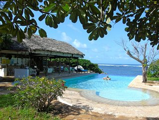 Second Home: Private beach house with fabulous pool on Marine Conservancy