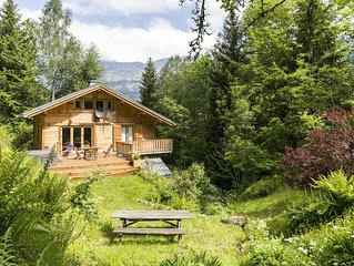 Private Chalet With Large Garden And Mountain Views