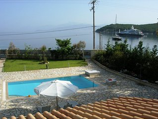 Lovely Beachfront Villa,superbly Located Steps Away From The Crystal Clear Sea.