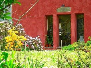 Charming Village House In Pescaglia With Private Garden
