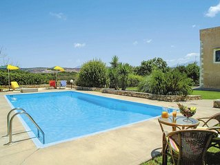 Tradition meets contemporary in this ideally situated villa w/ pool and views