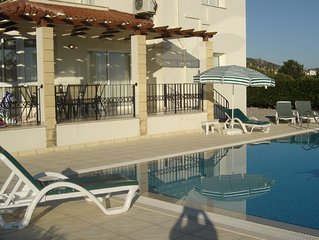 A superb new villa with stunning views, large grounds and private pool