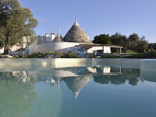 Trullo MELOGRANO - Beautiful Trullo with Pool and Panoramic View