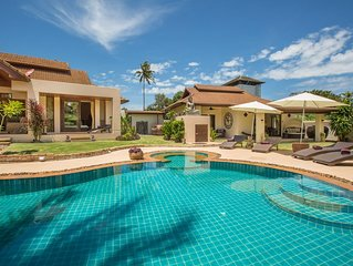 Baan Lily A Spacious 5 bedroom Villa With Pool and Jacuzzi