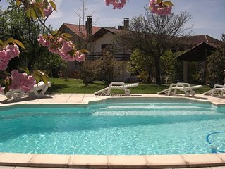 Large villa with pool for group or family holidays in the Pyrenees