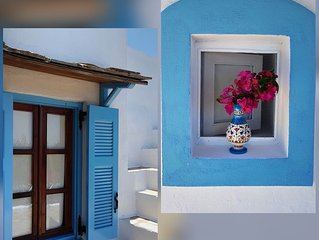 ★A Fairytale House at Mandraki★Natural scenery and superb view to the Aegean Sea