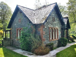 Detached Victorian Lodge in South West Scotland