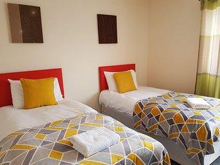 Huku Kwetu - Eddiwick House (Dunstable) 3 Bedr
