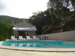 Villa superbe vue mer avec piscine privee pour 6 personnes