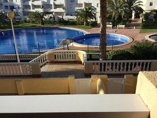 Fantastic Value Overlooking Pools & Garden. 5 min Beaches, Restaurants, Bars