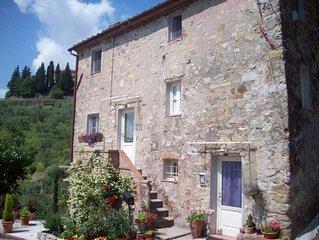 Appartamento in casale con giardino e parcheggio privato (4 posti letto)