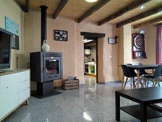 Casa rural (alquiler integro) Chasca y Barro para 12-14personas.