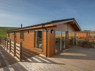 Beautiful chalet set in the heart of East Lothian's countryside.