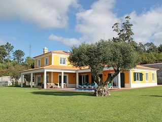 Magnificent & spacious, large garden, heated pool, seaview | Bellevue Villa