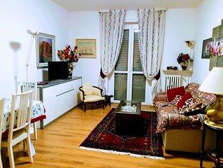 Appartamento per 4 persone, luminoso,