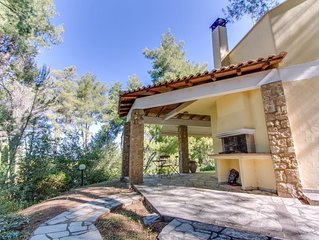 Exclusive villa surrounded by pine forest