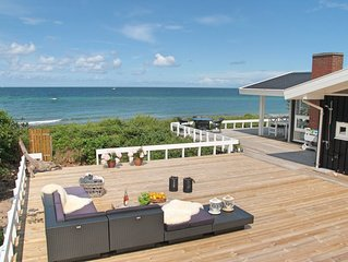 Panoramic sea view by the beach. Up to 10 guests in Gilleleje - Northern Zealand