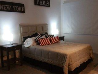 Un calido apartamento, comodo, moderno y muy bien ubicado. IMPERDIBLE!