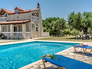 Villa Kathleen, set in tranquil location with private swimming pool & gardens.