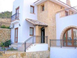 Luxury 3 double bedroom villa with infinity pool and rural setting , Malatya