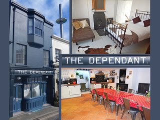 THE DEPENDANT - Entire House - sleeps 8 - 3 Bathrooms - Beach - Central.