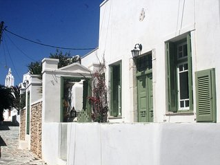 Traditional House Located In The Area Of the Medieval Castro in Chora Village