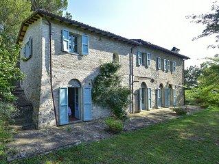 Serene Stone Farmhouse In The Sabine Hills, Lazio