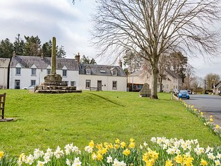 SHILOH COTTAGE - Sleeps 4+2 in the charming village of Ancrum