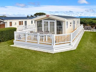 Desirably located on Crugan holiday park offers a perfect seaside escape for fam