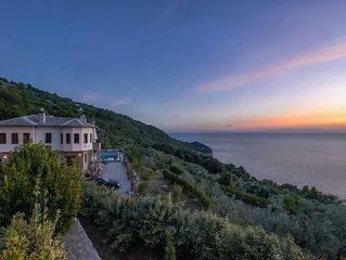 Elysian Boutique House | Private Sea View Villa In Pelion