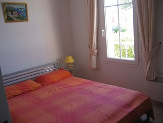 South of France new 2 bed Villa on private residence. Plus a small annex bedroom