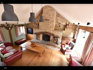 Amazing barn , minutes from sculpture park and cannon hall .