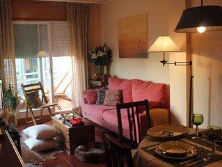 Exclusivo apartamento en Sanxenxo con piscina a 100 m de la playa de Silgar,