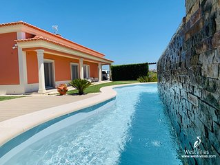 6 Bedroom Countryside Villa 15 min from the Beach