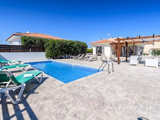 An exquisite 3 bedroom Villa with Private Pool,  in Ayios Elias area of Protaras