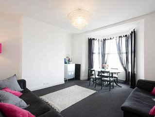 Beautiful Margate Cliftonville Flat with Sea View & Patio