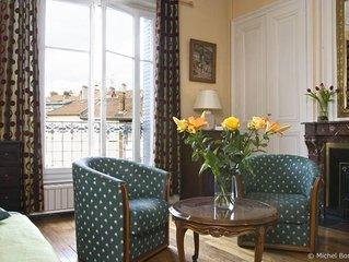 Appartement de charme typiquement francais