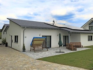 Holiday home with garden and terrace in Bodenwohr, in the Upper Palatinate close