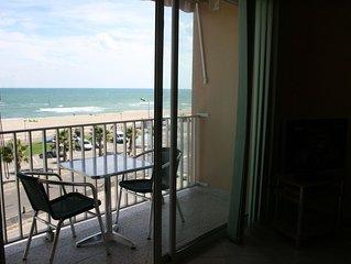 Appart. front de mer dans petite résidence classé 3 * Meublé de Tourisme FNAIM