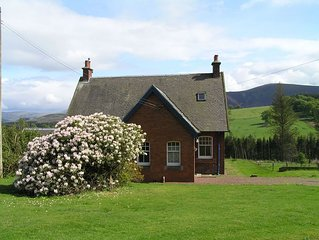 The Gardener's House, Carmichael Country Cottages, near Biggar. Pets welcome.