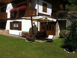 Vacanze in Villa Elena sulle Dolomiti di Alleghe-Italy