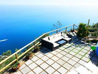 Villa Turquoise, above Conca dei Marini, Amalfi Coast