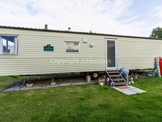 8 berth caravan for hire at the Wild duck Haven park Norfolk ref 11012