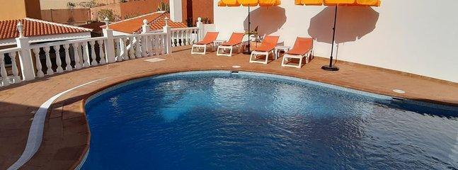 fabulous private pool and solarium