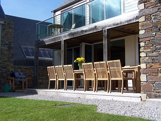 Contemporary Luxury New Build House With Stunning Views Of The River Camel