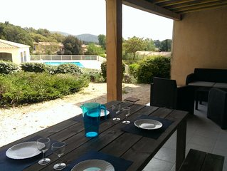 Grand appartement T2 proche SAINTE-MAXIME et Golfe de SAINT TROPEZ