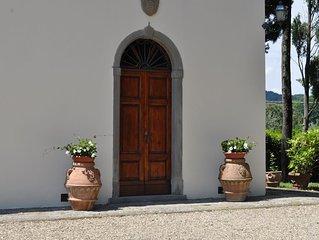 Villa La Tinaia con piscina