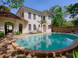 Stunning villa in beach plot on Diani Beach with big private pool BOHEMIA HOUSE