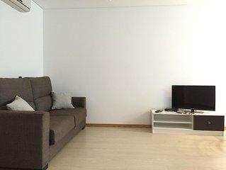 Galante Beach apartment in Figueira da Foz with WiFi, integrated air conditionin